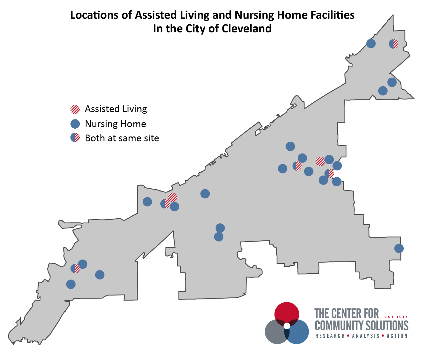 Cleveland's long-term care continuum: Capacity and need